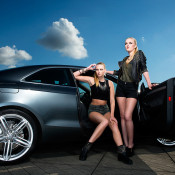 Audi / Harley shoot with Yasmin and Ellen
