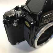 For sale: Pentax 6×7 body with TTL prism